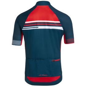VAUDE Pro III Tricot Men, czerwony/niebieski